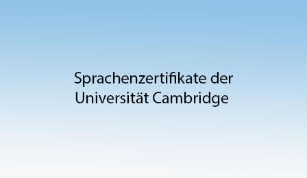 Cambridge Zertifikate