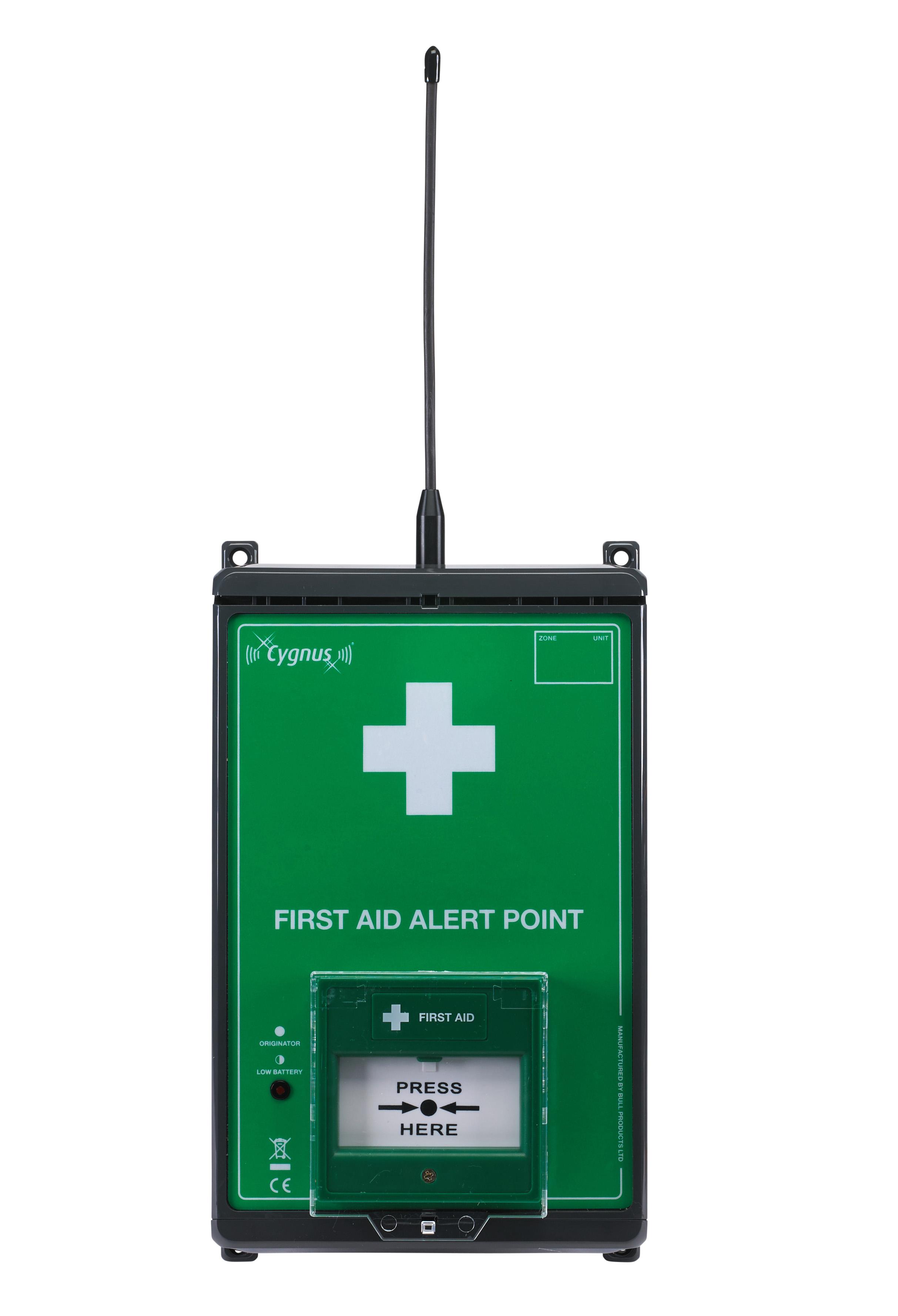 CYG5_Erste Hilfe Melder